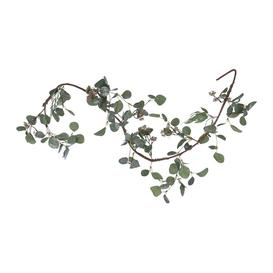 image-A by AMARA Christmas - Artificial Eucalyptus Garland With Berries