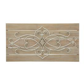image-Metal and Wood Wall Décor August Grove