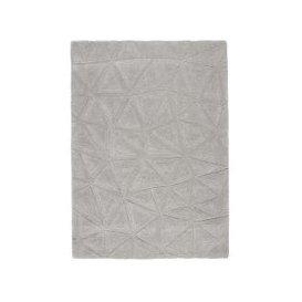 image-Trixie Wool Rug - 160cm-x-230cm - Grey
