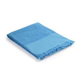 image-Fouta - /  Bath towel - 93 x 165 cm - Cotton by Au Printemps Paris Blue