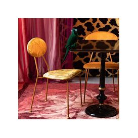 image-Bold Monkey Pair Of Kiss The Froggy Chairs - Red