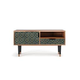 """image-Delaria TV Stand for TVs up to 50"""" Bay Isle Home Pattern: Golden Empire"""