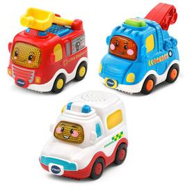 image-VTech Toot-Toot Drivers 3 Car Pack Emergency Vehicles