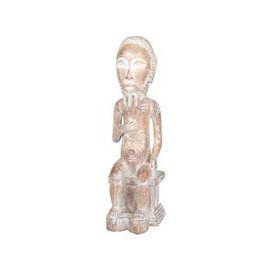 image-Maasai Warrior Figurine H34