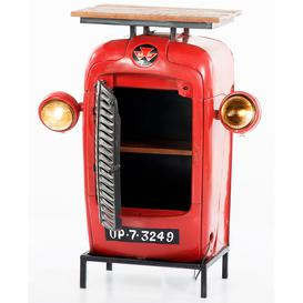 image-1 Door Tractor Console Table with Twin Head Lights