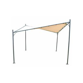 image-LG Outdoor Rodin 3.5m Sail Awning and Poles - Beige