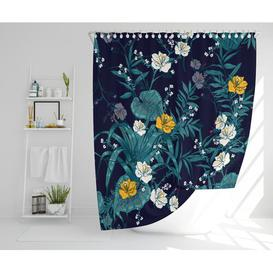 image-Lall Polyester Shower Curtain Set Rosalind Wheeler
