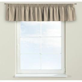image-Panama Curtain Pelmet Dekoria Size: 390cm W x 40cm L, Colour: Cream