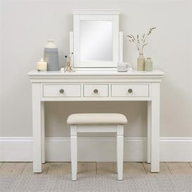 image-Chantilly Warm White NEW Dressing Table Stool