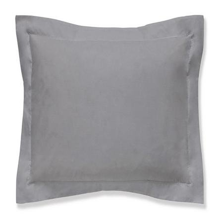 image-Fogarty Soft Touch Slate Grey Continental Square Pillowcase Slate (Grey)