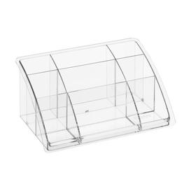 image-Timeless Tall Desk Organiser (Set of 4) Rotho Colour: Clear