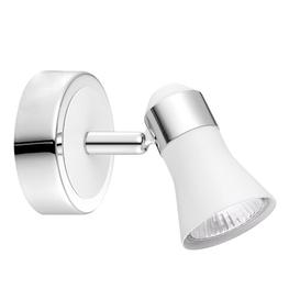 image-Melini 1-Light Wall Spotlight Wade Logan Finish: White
