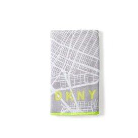 image-DKNY City Map Hand Towel, Grey