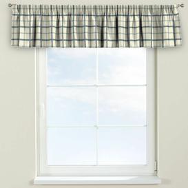 image-Avinon Curtain Pelmet Dekoria Size: 260cm W x 40cm L, Colour: Cream/Blue
