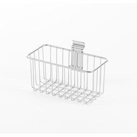 image-Leppert Compactor Walltech Garage Small Storage Laundry Room Organiser (Set of 4) Symple Stuff Finish: Chrome
