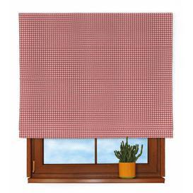 image-Picture Roman Blind Dekoria Size: 170 cm L x 80 cm W, Colour: Red / Ecru