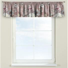 image-Monet Curtain Pelmet Dekoria Size: 390cm W x 40cm L, Colour: Pink