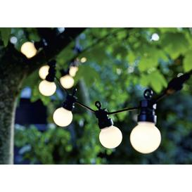 image-Sirius Lucas Solar Outdoor String Lights Frosted Starter Set