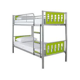 image-Cyber Bunk Bed Frame - Bunk Bed Frame With 2 Standard Mattresses