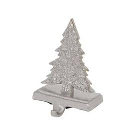 image-Libra Silver Aluminium Tree Stocking Holder Small - Xmas-18