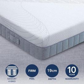 image-Breasley Uno Memory Pocket 1000 Mattress White