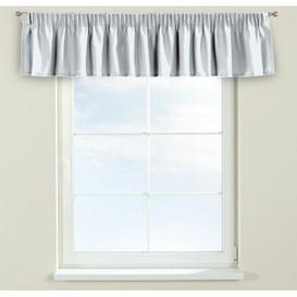 image-Panama Curtain Pelmet Dekoria Size: 390cm W x 40cm L, Colour: White