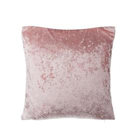 image-Prather Hosta Velvet Cushion with Filling Willa Arlo Interiors Colour: Pink