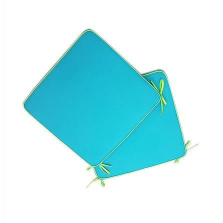 image-Fiesta Piped Seat Pads Teal