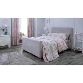 image-Heritage Upholstered Bed Frame Catherine Lansfield Size: Small Double (4')