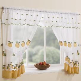 image-Tillinger Slot Top Sheer Curtain Brambly Cottage Panel Size: 248 W x 137 D cm
