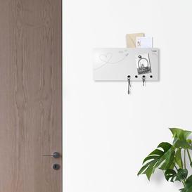 image-Love Mail Key Hook Ebern Designs