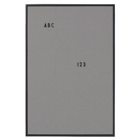 image-A2 Memo board - / L 42 x H 59 cm by Design Letters Grey