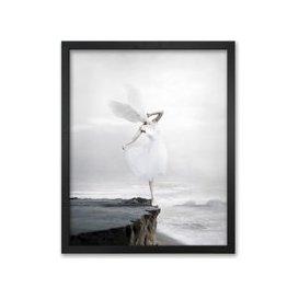 image-The White Sky-XIX Canvas by Stefano Bonazzi