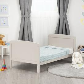 image-Juliet Cot Bed with Foam Mattress CuddleCo Colour: Dove Grey