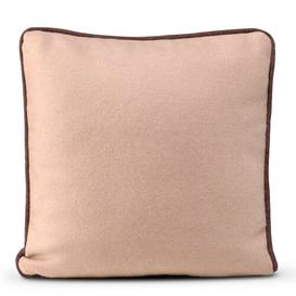 image-Harristown Wool Cushion Cover ClassicLiving Colour: Pale Rose/Brown