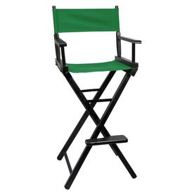 image-Belldon Folding Director Chair Sol 72 Outdoor Colour (Fabric): Red, Colour (Frame): Black