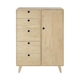 image-Children's 2-door 1-drawer wardrobe