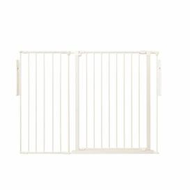 image-Janni Extra Tall 2 Panel Room Divider Symple Stuff Colour: White