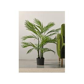image-Faux Potted Palm Tree