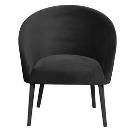 image-Plum Tub Chair Happy Barok Upholstery Colour: Gray