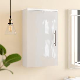 image-Salona 40 x 68cm Wall Mounted Cabinet Belfry Bathroom Finish: White