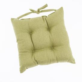 image-Barkweave Green Seat Pad Green
