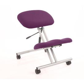 image-Kneeling Chair Symple Stuff Colour: Aubergine