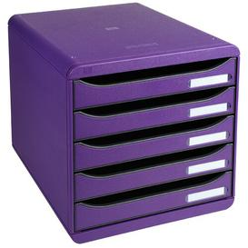 image-Mcginnis Desk Organiser Symple Stuff Colour: Purple