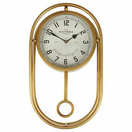 image-Maddison Wall Clock Williston Forge