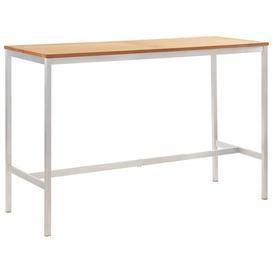 image-Hampartsum Teak Bar Table Sol 72 Outdoor Size: 105cm H x 160cm W x 60cm D