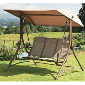 image-Nesbit Swing Seat Sol 72 Outdoor Finish: Mocha