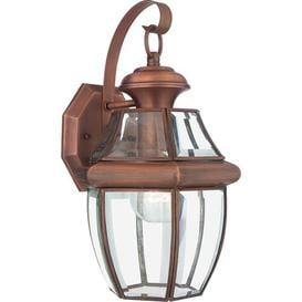 image-Wexford Outdoor Wall Lantern Sol 72 Outdoor Size: 35.6cm H x 20.3cm W x 20.3cm D