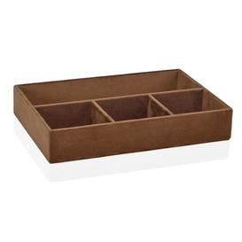 image-Oriana Desk Organiser Ebern Designs Colour: Tobacco