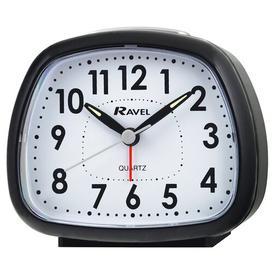 image-Rayner Alarm Clock Ravel Finish: Black